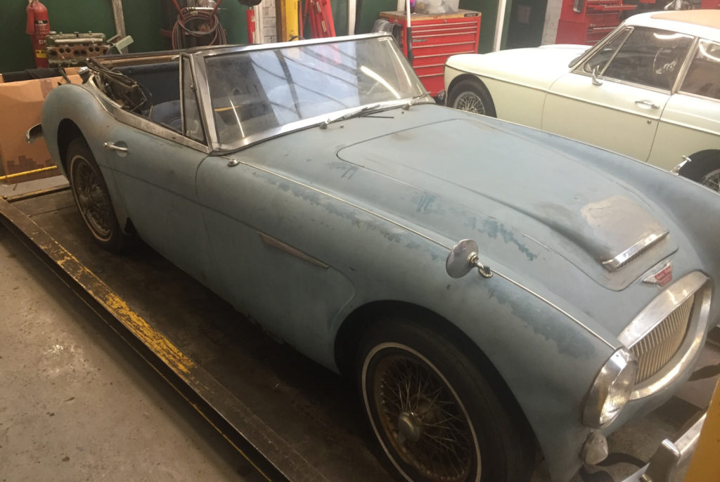 Classic Cars Needing Restoration For Sale Uk