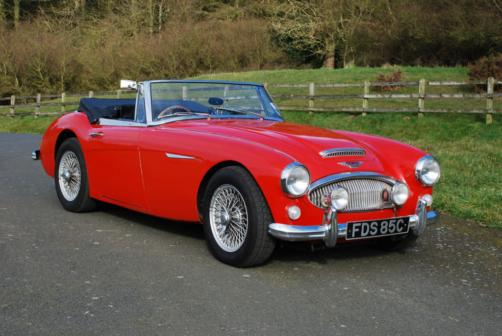 Austin Healey 3000 Mk 3 - Murray Scott-Nelson