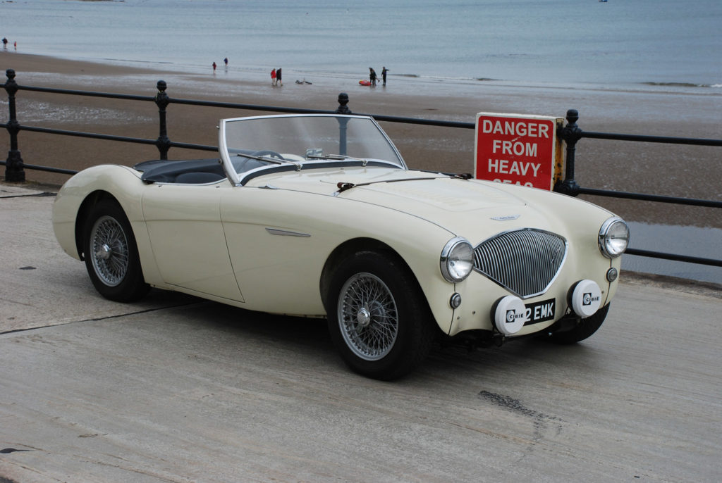 Austin Healey 100/4 - Murray Scott-Nelson