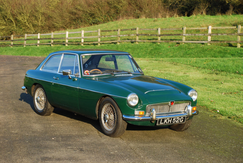 MGC GT | Original UK RHD Car | For Sale | Murray Scott-Nelson