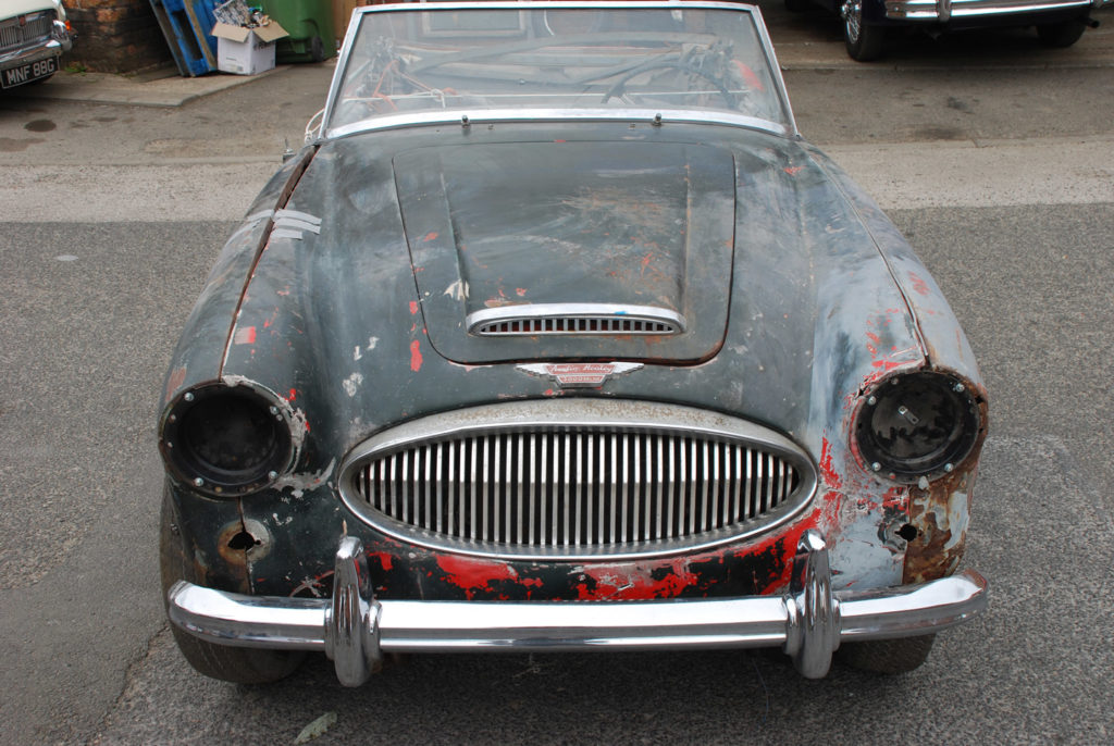 Austin Healey 3000 MK 3 Restoration Project | For Sale | Murray Scott-Nelson