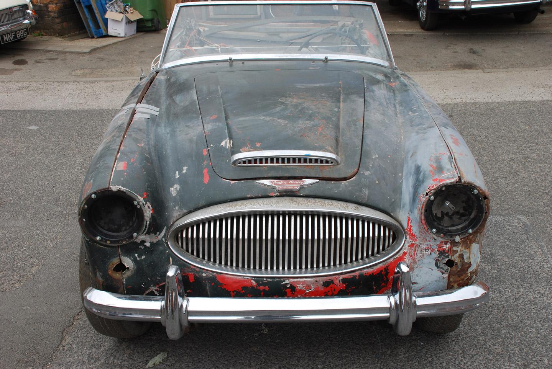 Austin Healey 3000 MK 3 Restoration Project | For Sale | Murray Scott-Nelson