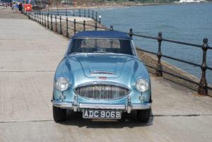 Austin Healey 3000 MK 3 | Original UK Blue & White Car | For Sale | Murray Scott-Nelson