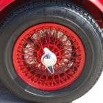 Austin Healey 100/6 BN4 | Wheel | Murray Scott-Nelson
