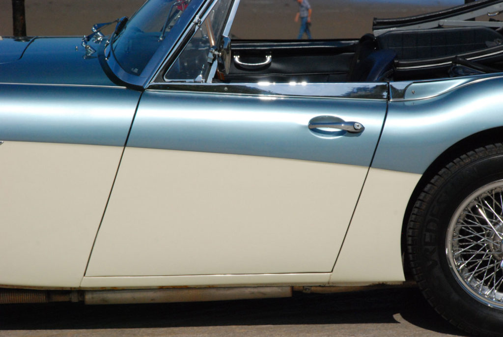 Austin Healey 3000 MK 1 | Restoration Project | Murray Scott-Nelson